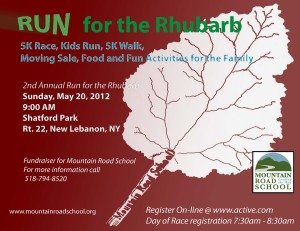 run for the rhubarb